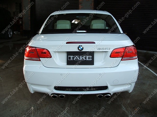 BMW E92 M3 LOOK Rear Bumper kit
