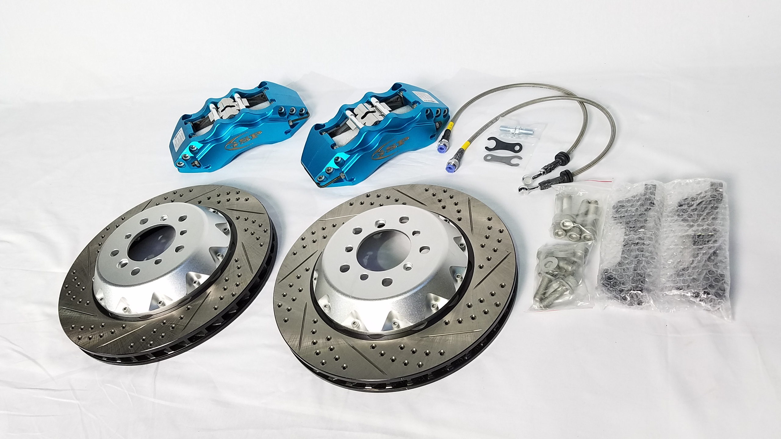 GSP brake system for F30. 356 mm 6 POT big caliper.