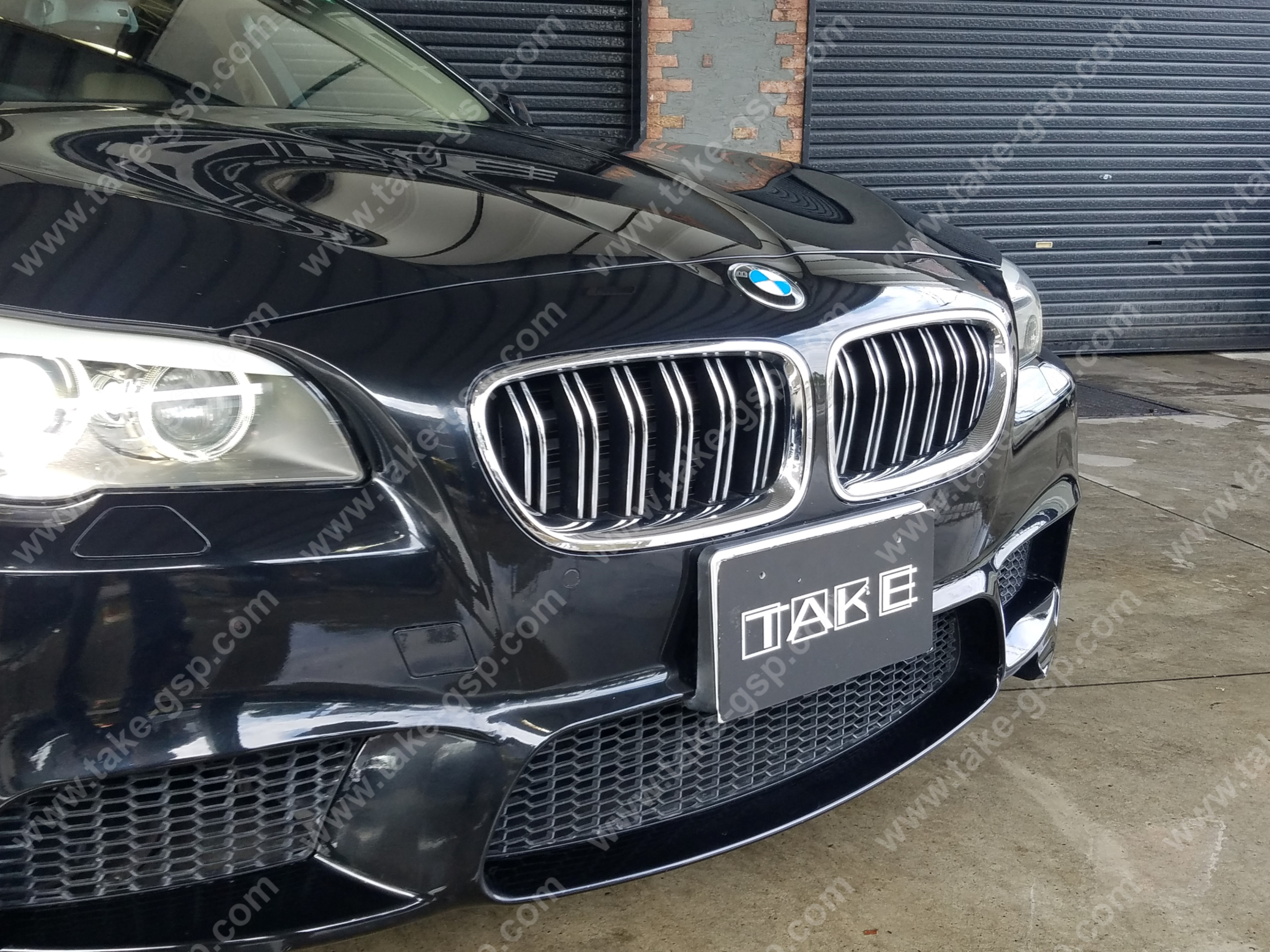 BMW F10  M5 LOOK Grill (chorome)